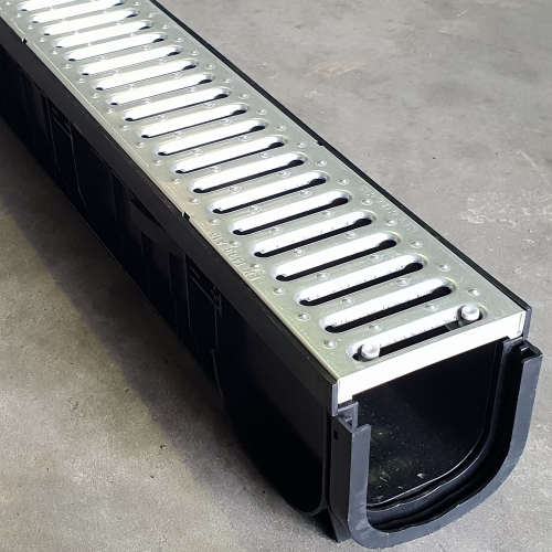 Channel & Grate Galvanized Steel B125