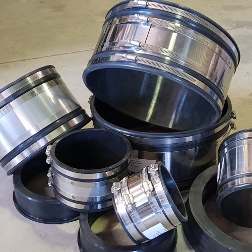 316 Stainless Steel Shearbanded Couplers EPDM