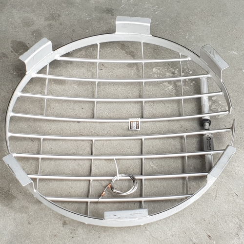 Stainless steel 600mm diameter impact safety grille