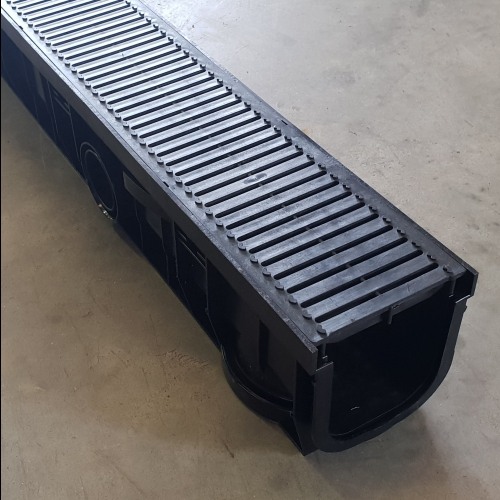 Channel & Grate Plastic Heelsafe B125