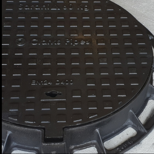 Streetware Ductile Iron 600mm - D400 hinged manhole cover